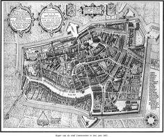 Map of Leeuwarden 1603