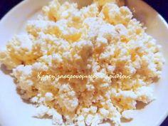 Πώς φτιάχνουμε παραδοσιακή κρητική ξινομυζήθρα - cretangastronomy.gr Snack Recipes, Snacks, Healthy Cooking, Cheese, Food, Homemade Products, Greek, Kitchen, Diy