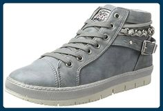 Dockers by Gerli Damen 35NE212-636 High-Top, Blau (Hellblau 610), 41 EU - Sneakers für frauen (*Partner-Link)