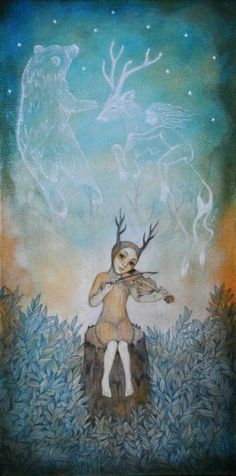 """Forest Spirits"" - Lucy Campbell"