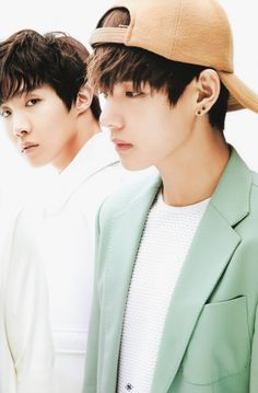 V + J-Hope | The Star Magazine March Issue '15