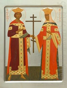 Handpainted icon of st Constantine and st Helen #CatalogOfGoodDeeds #icon #iconography #orthodoxicon #orthodoxiconography #buyicon #ordericon #iconographers #holytrinity #Handpainted #Saintconstantin #sainthelen