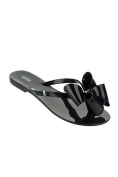 Most Comfortable Shoes Women Shoe Melissa Sandals Flip flops Black