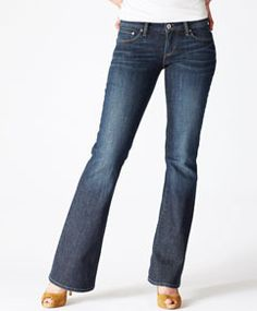The usual default: my Levis.  I hate buying jeans, so when I find a pair I like the fit, I try to buy 2 or 3 of the same pair.  Thus, I don't wear designer jeans.