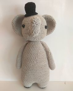 Elephant by meilan__0811. Crochet pattern by Little Bear Crochets: www.littlebearcrochets.com ❤️ #littlebearcrochets #amigurumi