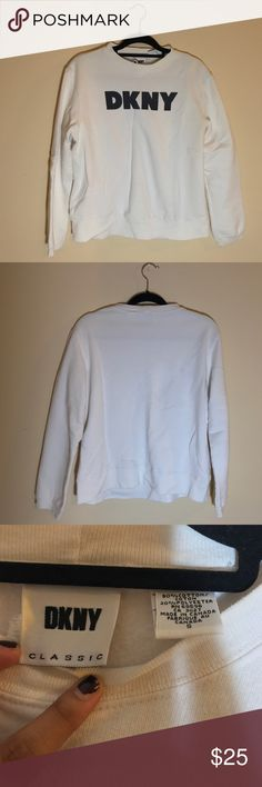 VINTAGE DKNY CREW NECK SWEATER VINTAGE DKNY CREW NECK SWEATER.                                       Size: Small DKNY CLASSIC Sweaters Crew & Scoop Necks