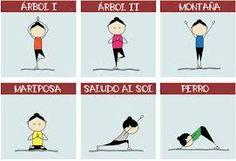Resultado de imagen para yoga en parejas para niños