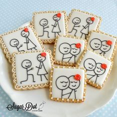 Easy to Make Royal Icing Transfers with these template sheets. So easy to use and make the cutest decorative elements for cookies, cakes, and cupcakes. Fancy Cookies, Iced Cookies, Cookies Et Biscuits, Sugar Cookies, Owl Cookies, Royal Icing Transfers, Royal Icing Templates, Sugar Cookie Royal Icing, Cookie Icing