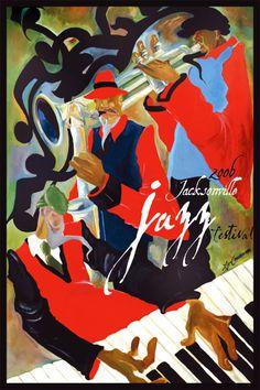 The 2006 Jacksonville Jazz Festival Posters