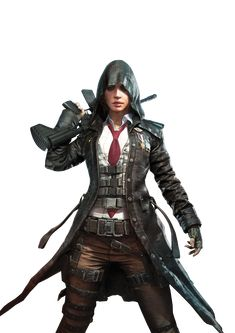 Playerunknown S Battlegrounds Female Sniper Pubg Png Image Png Images Women Png