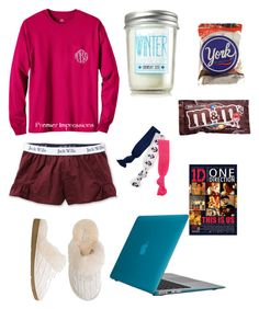 """""""Snow Day!!"""" by hbcernuto ❤ liked on Polyvore featuring Candie's, Jack Wills, Twistband and UGG Australia"""