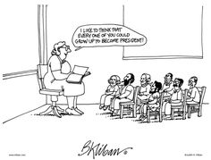 Kliban Comic Strip, July 04, 2014 on GoComics.com