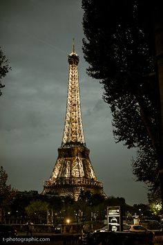 Eiffel Tower at dusk. Let's go to Paris. Tour Eiffel, Paris Eiffel Tower, Paris Tour, Paris Paris, Monuments, Beautiful World, Beautiful Places, Places To Travel, Places To Visit