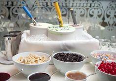Resultado de imagem para servir sorvete no casamento