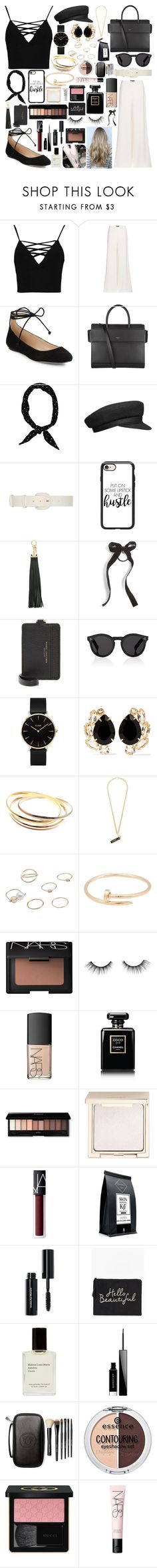 """""""Castle On The Hill"""" by ebz127 ❤ liked on Polyvore featuring Boohoo, Ralph Lauren, Karl Lagerfeld, Givenchy, Ryan Roche, Casetify, Fendi, Cara, Marc Jacobs and Illesteva"""