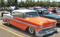 1956 ORANGE! BelAir - That would be a GREAT fundraiser for MS!!