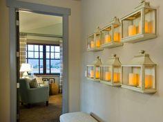 lantern display en masse, love this