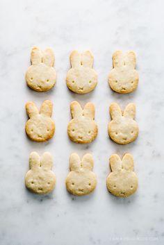 Miffy lemon shortbread cookies