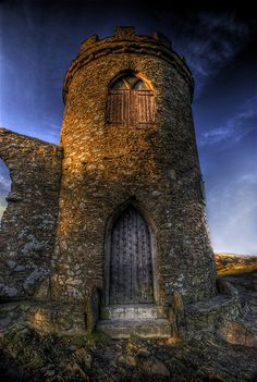 Old John is a folly atop the highest hill in Bradgate Park, Leicestershire, England. It was built in 1784,