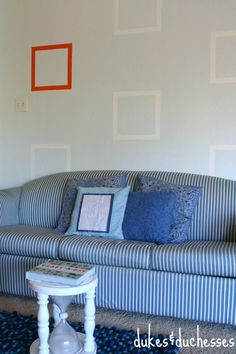 a geometric painted
