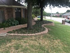 This is a beautiful Pavestone wall,walkway and ground cover shaded area GroundScape installed in Fort Worth Texas. If you have any paver landscaping needs please give us a call at Fort Worth Texas, Landscaping Company, Paths, Concrete, Yard, Shades, Sidewalks, Walkways, Landscape