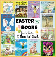 Easter books for kids in kindergarten thru second grade (k-2) | Mom to 2 Posh Lil Divas