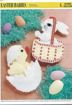 Easter Babies Plastic Canvas Pattern by needlecraftsupershop, $4.50