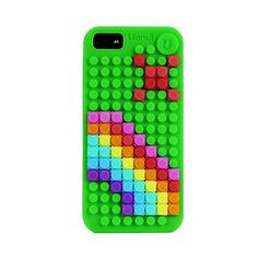 """Pixelate"" your case -- COOL!!  iPhone 5 Case - by Uanyi"