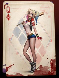 The One and Only...Harley Quinn! - Visit to grab an amazing super hero shirt now on sale!