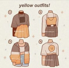 Anime Outfits, Cute Outfits, Drawing Anime Clothes, Fashion Art, Fashion Outfits, Clothing Sketches, Cute Art Styles, Fashion Design Drawings, Kawaii Clothes