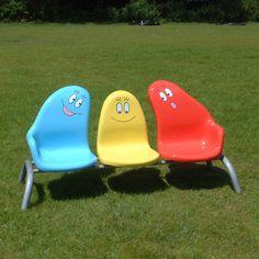 Barbapapa park bench