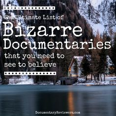 If you're looking for bizarre documentaries, you've found the perfect list! These weird stories are too bizarre to not be true and they're all entertaining to boot. Enjoy your next movie night! Best Documentaries On Netflix, Netflix Movies To Watch, Good Movies To Watch, Shows On Netflix, Great Movies, Spiritual Documentaries, Vegan Documentaries, Tv Series On Netflix, Castle Tv