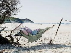 A beach and a hammock = bliss