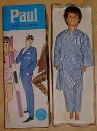 Sindy's boyfriend Paul arrived in on, he's already in jammies! Vintage Barbie, Vintage Dolls, Childhood Toys, Childhood Memories, Terry Lee, Sindy Doll, Retro Advertising, Baby Memories, Barbie Friends