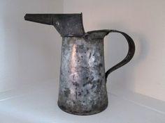 Antique Vintage Oil Can 1Qt Liquid U.S Standard