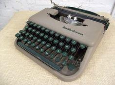Non-electric typewriters!