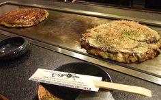 Guide to okonomiyaki restaurants in Tokyo.