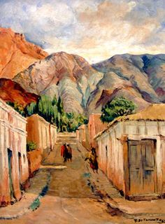 Tomás Ditaranto (#Argentina 1904-1985). #NorteArgentino #paisajes #pintor
