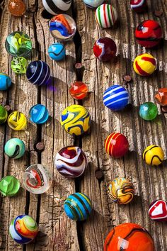 collecting marbles