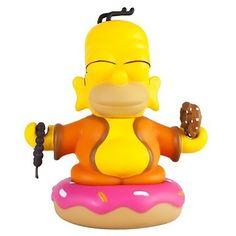 """Homer Buddha 3"""" The Simpsons x Kidrobot - Kidrobot - 1"""