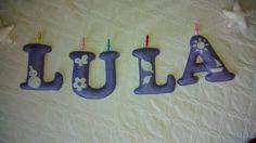 Nombre de fieltro: LULA.