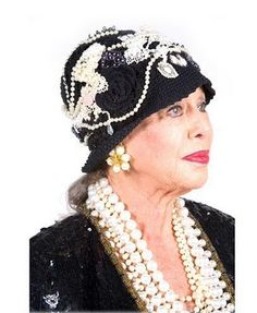 I will be this age before I know it. I hope I will still be wearing my pearls and lipstick!