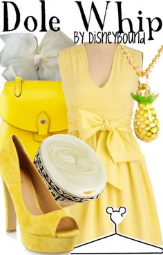 Bizarre website with theme-oriented Disney fashion.  Highly amused by the Dole Whip.