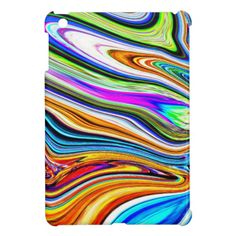 Wave Of Colors iPad Mini Cases