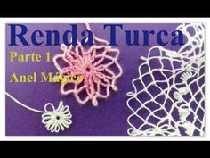 Cómo se inicia un Tejido en Pajita? - YouTube Crochet Lace Edging, Irish Crochet, Crochet Stitches, Embroidery Stitches, Knit Crochet, Crochet Patterns, Needle Tatting, Needle Lace, Filets