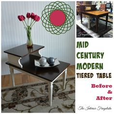 Table #3 in my Side Table Makeover Series. One more to go!