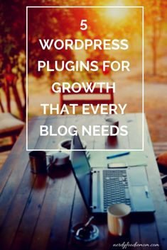 These 5 WordPress plugins for growth will change the way you work - smarter, not harder! Grow your blog or website with these plugins quickly!