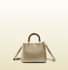 Gucci Bamboo Shopper Golden Beige Metallic Mini Leather Top Handle Bag; $1,350.00