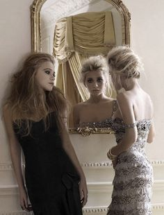 Mary-Kate and Ashley Olsen Evening Gowns