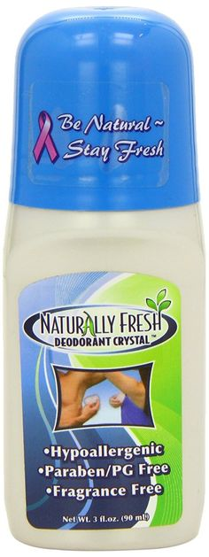 Naturally Fresh Deodorant Crystal Roll-On No Fragrance 3 oz
